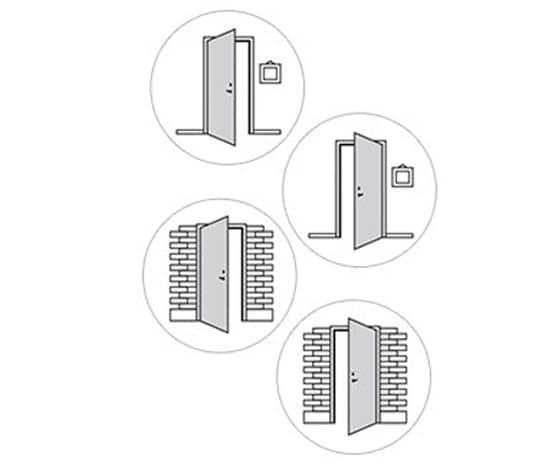Terrassentur doppelflugel masse for Sicherung fur balkontur